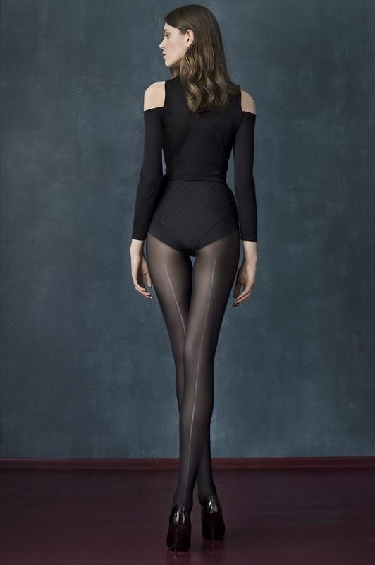 Punčocháče Fiore Long Black